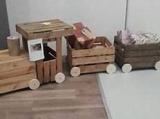 vendo cassette frutta legno locomotiva trenino realizzata con cassette legno di faggio
