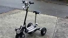 Elektro Scooter Mit Sitz Dreirad - videocomscooter dreirad by kari