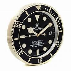 rolex wall clock submariner style gold rl49 free