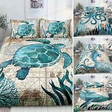 3d sea animals dolphin turtle bedding duvet cover comforter cover pillowcase ebay