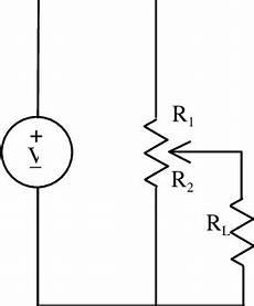 A Potentiometer Schematic Circuit Diagram