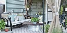 Terrasse Dekorieren Ideen - liz patio before and after patio decorating ideas