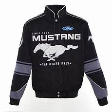 ford mustang official jacket bomber coat racing free