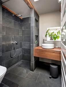 bagni ardesia bagno con pavimento in ardesia foto idee arredamento