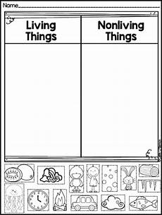 science worksheets living and nonliving things 12103 plants and living things plus freebies kindergarten science science worksheets preschool