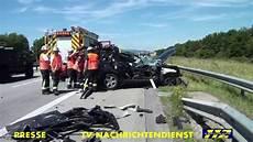 Schwerer Unfall Pkw Rast In Lkw A61 Bei Sprendlingen
