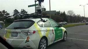 Google Street View Car In Ottawa  YouTube