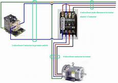 wiring diagram contactor three phase contactor wiring diagram electrical engineering blog
