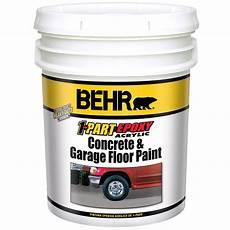 behr premium 1 gal pfc 19 pyramid 1 part epoxy concrete and garage floor paint 90001 the