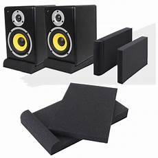 2pcs Studio Monitor Speaker Acoustic Isolation by Sets 2pcs Sponge Sound Studio Monitor Speaker