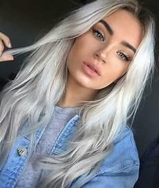 Platinum Blue Hair best hair colors for fair skin 35 exles not to miss