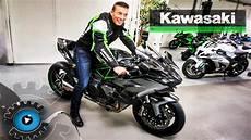 Das Schnellste Motorrad Der Welt H2r Kawasaki