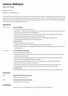 nurse manager resume exle guide 20 tips