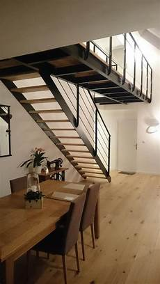 metal design lorient passerelle suspendue avec escalier m 233 tallique