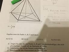 fl 228 che des dreiecks berechnen vektoren mathelounge