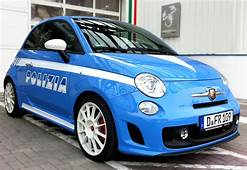 Information About Vehicle Fiat 500 Abarth Police Car