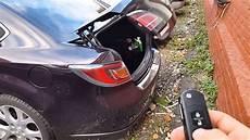 Mazda 6 Automatic Trunk Open автоматическое открытие