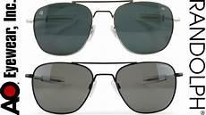 randolph engineering american optical sunglasses youtube