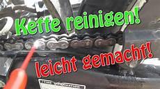 motorrad kette reinigen motorradkette reinigen leicht gemacht tutorial