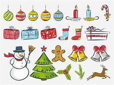 Christmas Drawings Vector