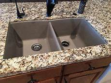 Amazon Com Exquisite Marble Truffles Blanco 441286 Diamond Equal Double Bowl Silgranit Ii Sink