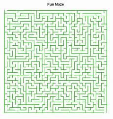maze puzzle worksheet maker sle