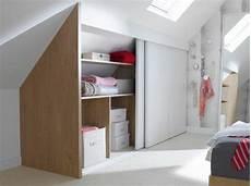 armoire sous comble 1001 id 233 e pour un dressing sous pente gain de place chambre dressing sous pente dressing