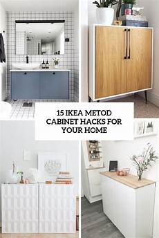 Ikea Metod Hack - 15 ikea metod cabinet hacks for your home shelterness