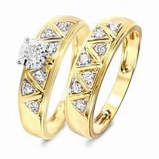 1 3 carat diamond bridal wedding ring 14k yellow gold