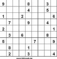 sudoku nr 16 zum ausdrucken