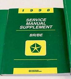 car owners manuals for sale 1998 dodge ram 1500 club transmission control 1998 dodge ram 2500 3500 truck cummins 24v diesel service manual supplement ebay