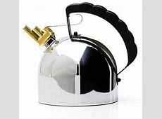 Alessi melodic kettle by Richard Sapper   For Induction Hobs