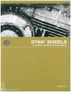 Harley Davidson Factory Service Manual by 2015 Harley Davidson Dyna Official Printed Factory