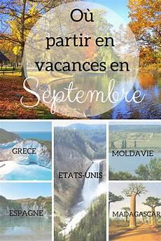 Vacances En Automne Top Des Destinations Quot Vertes Quot De