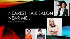 nearest hair salon near me around trexlertown pa nearby lehigh valley youtube