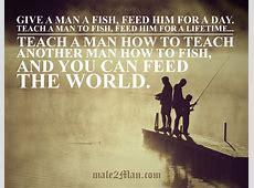 give a man a fish meaning