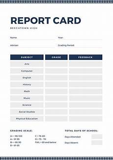 high school report card template customize 700 high school report card templates