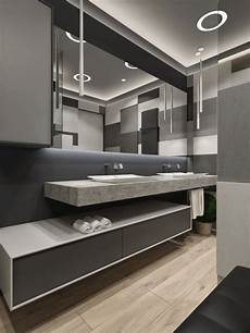 two apartments with sleek grayscale two apartments with sleek grayscale interiors kitchen