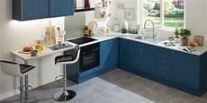 meuble cuisine bleu du bleu pour les meubles de cuisine leroy merlin