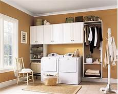 laundry room storage organization and inspiration