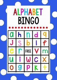 lowercase alphabet bingo game little projects