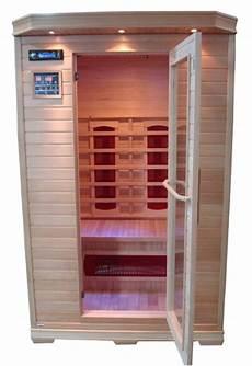 sauna 2 personnes sauna infrarouge 2 places bois canadien complet