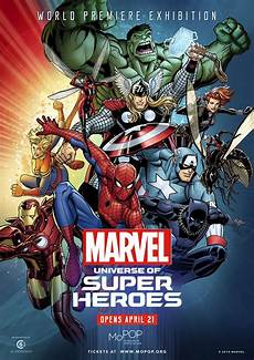 Mopop Unveils Official Poster For Marvel Universe Of