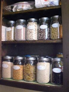 Kitchen Glass Jars by Organizing A Pantry With Glass Jars Is Cheap And Easy