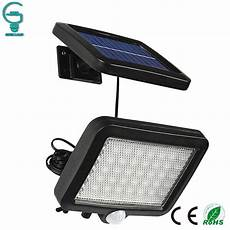56 led outdoor solar wall light pir motion sensor solar l waterproof infrared sensor garden
