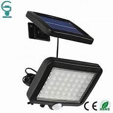 56 led outdoor solar wall light pir motion sensor solar