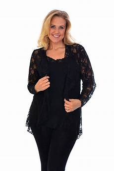 sleeve lace cardigan new womens floral lace plus size cardigan sleeve