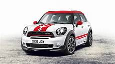 2017 mini countryman jcw revealed with more power and all