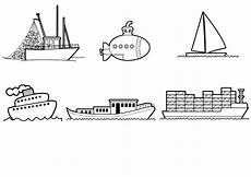 Malvorlage Schiff Einfach Ausmalbild Transportmittel Schiffe Und Boote Zum Ausmalen