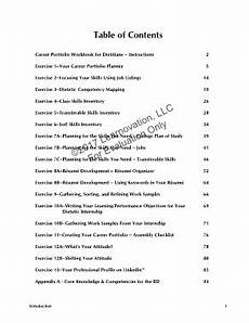 page 5 career portfolio dietitians workbook sle